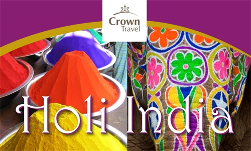 HOLI INDIA Salida grupal desde Buenos Aires - Crown Travel